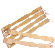 Newest Good Qualty Health Care Massager Bamboo Back Scratcher Scratch Your Back Easily Roller Massager Gift