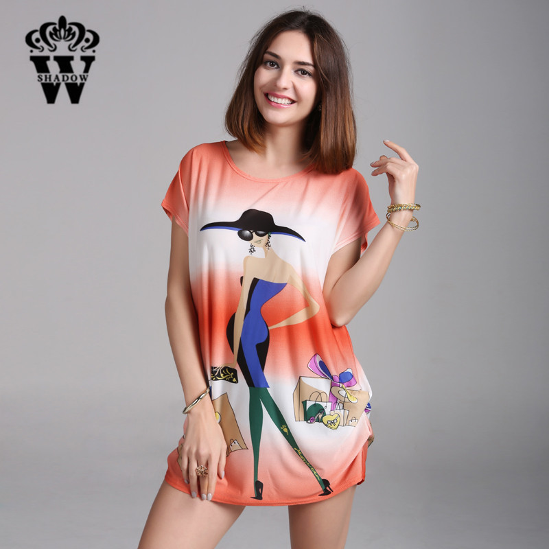 SHADOW Hot Bohemian Summer Style Fashion Women Design Dress Brand Clothing Vestido Feminina Casual Ropa Mujer Plus Size Dress(China (Mainland))