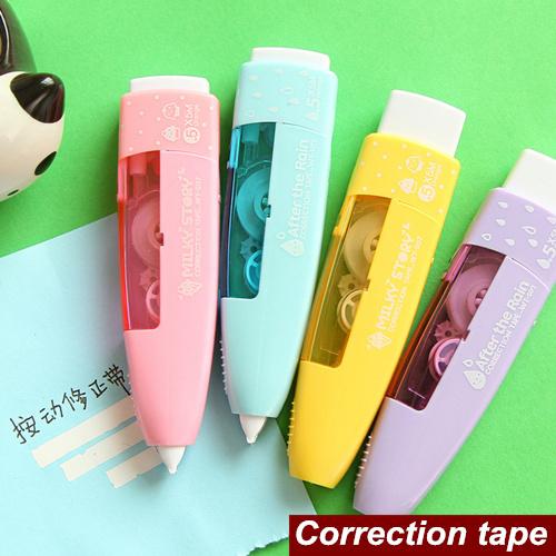 Гаджет  4 pcs/Lot Correction tape Candy color Fresh design corrective tapes stationery material escolar Office School supplies 6521 None Офисные и Школьные принадлежности
