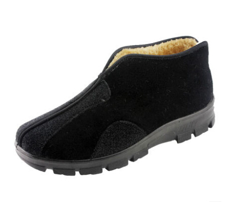 Size 48 47 46 45 38 39 beijing shoes Men winter cotton-padded plus size Boots kung fu Canvas Plus Non-Slip 5 15 - Customize Small and Big store