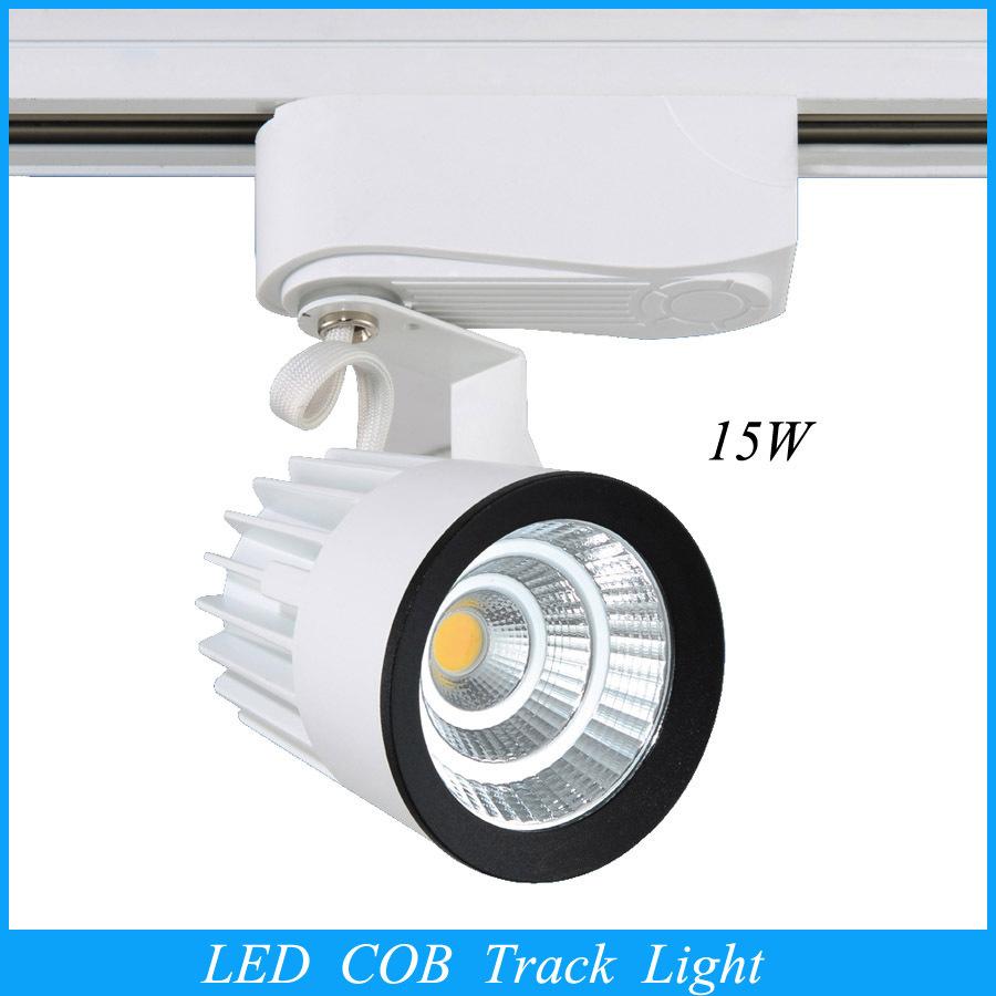2015 Wholesale Retail 15W COB Led Track Light,Spot Wall Lamp,Soptlight Tracking led AC85-265V light New Arrival(China (Mainland))