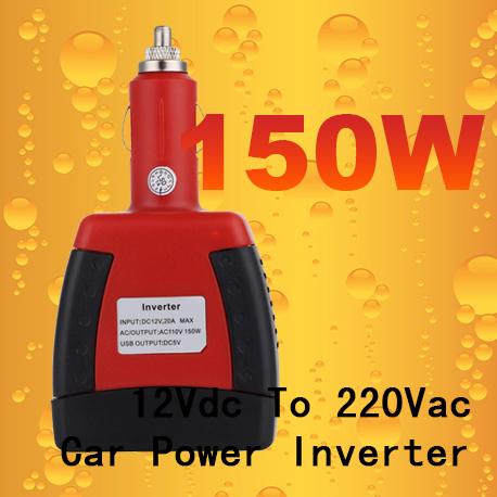 150Watt Inverter, 12vdc to 220vac off grid solar inverter charger pure sine wave power inverter with 5V USB output(China (Mainland))