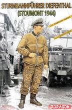 Dragón 1622 1/16 Sturmbannfuhrer Diefenthal ( Stoumont 1944 )