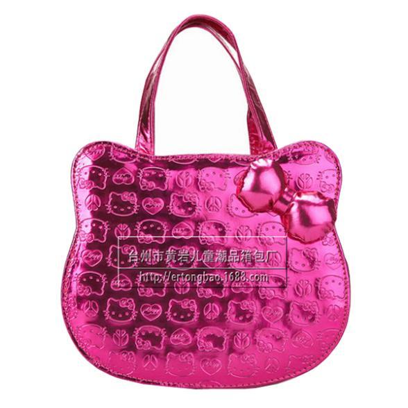 Hello Kitty Children Bag Fashion Princess Girl Handbag Children Messenger Bags Kids Girl Cartoon Handbag Shoulder Bag(China (Mainland))