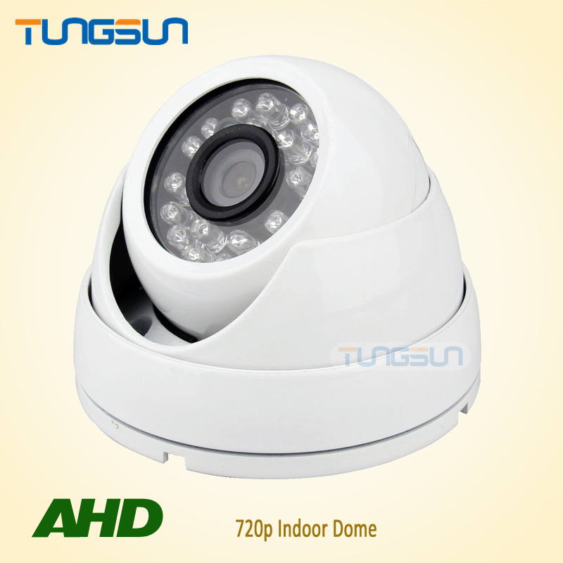 Special offer CCTV 720P AHD Camera Security Home IR Cut Mini Indoor White Dome 24led Infrared Night Vision 1MP Surveillance(China (Mainland))