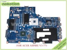 VA70 VG70 Mainboard rev 2.1 NBRYN11001 NB.RYN11.001 FOR ACER aspire V3-771 V3-771G Motherboard(China (Mainland))