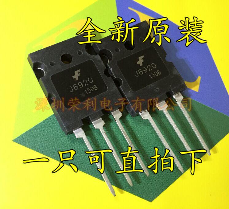Free shipping 10pcs/lot J6920 HD TV line pipe transistor chip IC 20A / 1700V new original(China (Mainland))