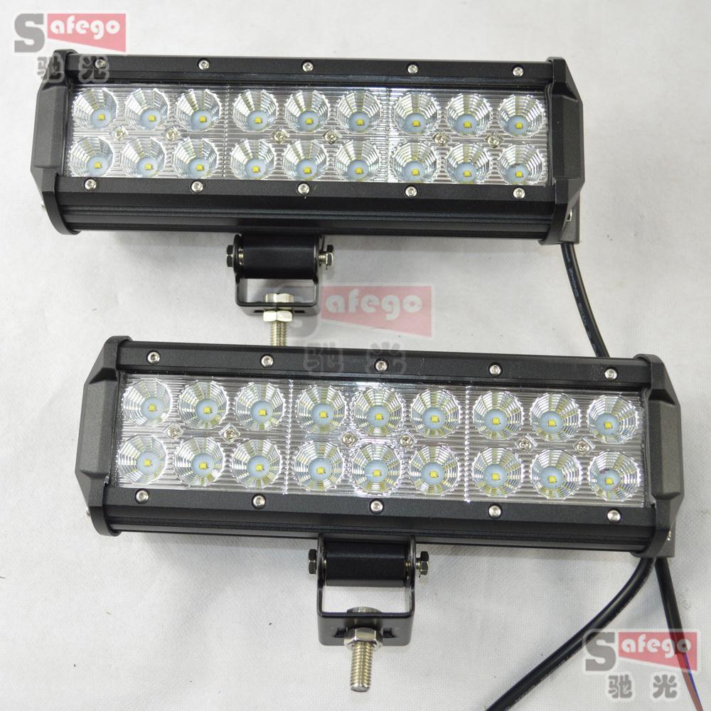2pcs9 54W led work light bar cree offroad lights 12v 24v near far cree led work light for  Truck SUV ATV Spot Flood <br><br>Aliexpress