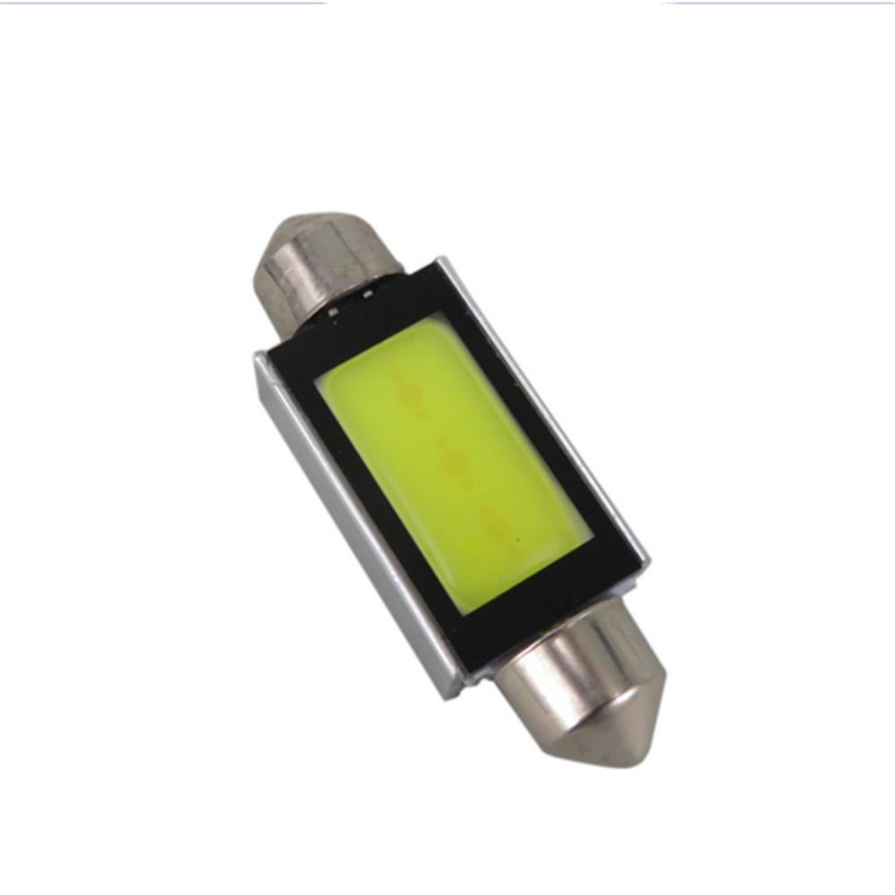 2PCS/Lot Xenon White 31mm/36mm/39mm/41mm Car COB LED Car Light Source License Plate Map Dome Light 6418 C5W 4W LED Bulbs 6000K<br><br>Aliexpress