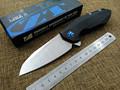 2016 New ZT 0456 pocket tactical folding knife Flipper ball bearing D2 blade G10 handle outdoor