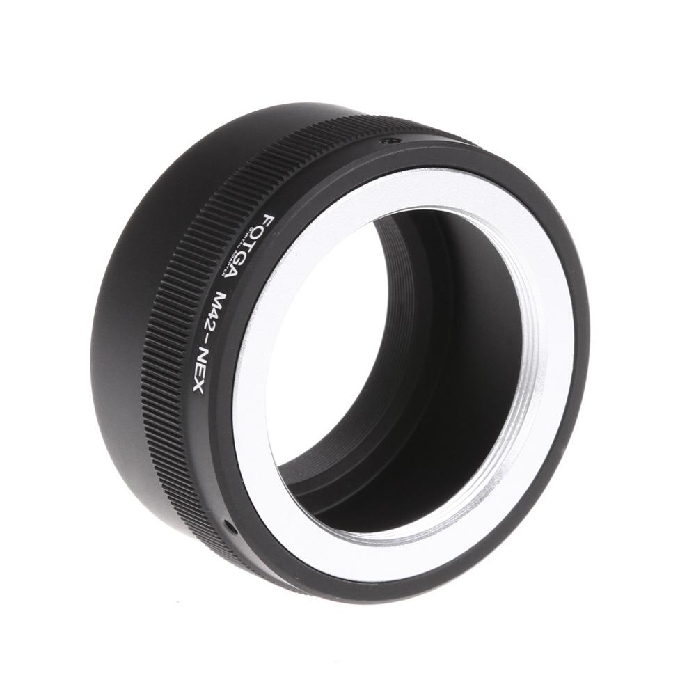 ES/US/UK STOCK Fotga M42 Lens Adapter Ring for M42 Lens to use for Sony NEX E-mount NEX NEX3 NEX5n NEX5t A7 A6000 Camera(China (Mainland))