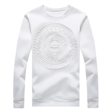 Men's Capless Hoodies Abstract Circular Patterns Pure Color Casual Sweatshirt Fashion Jacket Plus Size:M-5XL 968(China (Mainland))