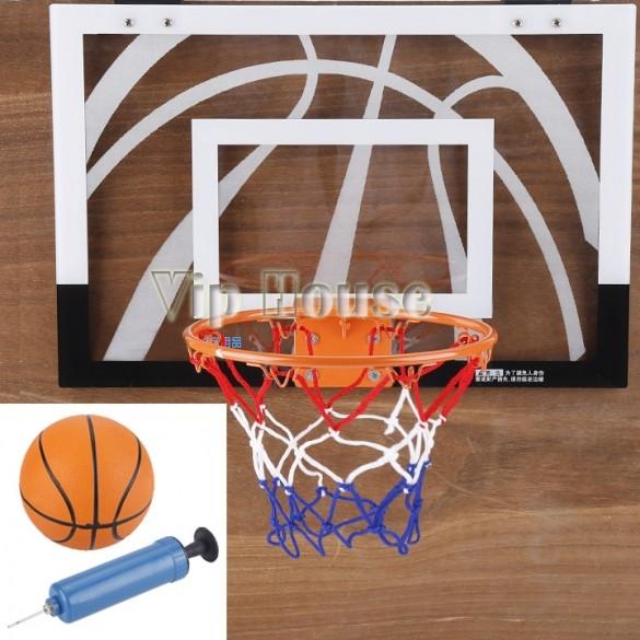 Free Shipping ! 2015 Hot Children Sport Toys Indoor Mini Basketball Hoop Net Backboard Rim Ball Pum 30(China (Mainland))