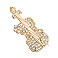 brooches for wedding bouquets Fashion Jewelry Brooches Corsage brooch exquisite guitar upscale Dresses clothing jewelry