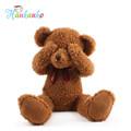 50cm Plush Shy Teddy Bear With Magnet Inside No Talking No Listening No Seeing Doll Stuffed