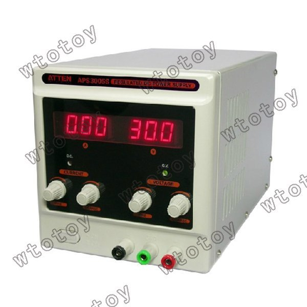 APS3005S Variable 30V 5A DC Power Supply Lab Grade 13032