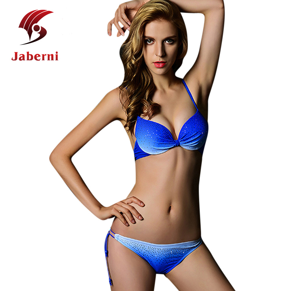 2016 Pin Up Plus Size XXL Swimwear Female Push Up Sexy Bikinis Set Strappy Women Brand Australia Swi