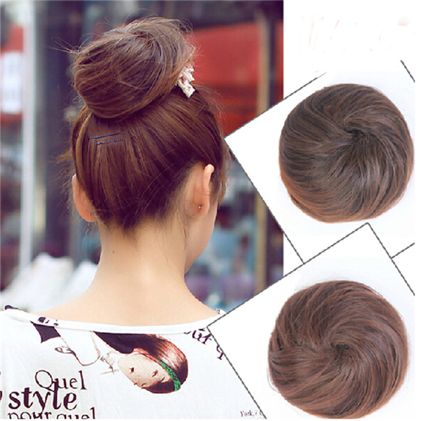 New style clip in on elastic net hair bun Chignon Ponytail Drawstring Hairpieces Wholesale(China (Mainland))