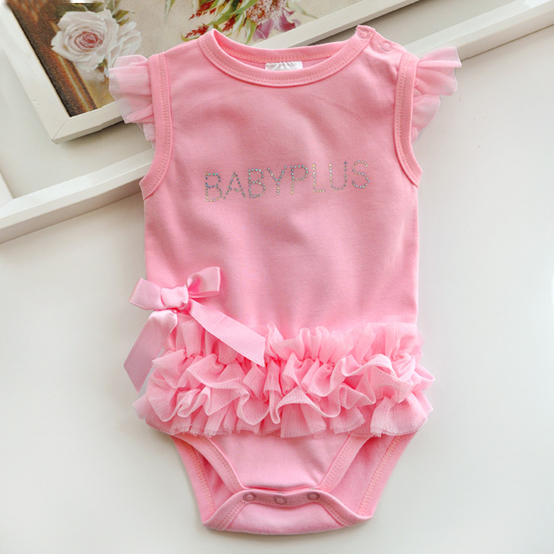 2016 Baby Girls Bodysuits Infants Newborn Babies Clothes Bebe Summer Children Climb 100% Cotton Clothing Jumpsuit Triangle - Sundy baby store