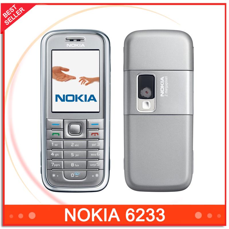 Cheap Original Phone Nokia 6233 GSM Bluetooth Camera Good Quality Phone Unlocked Free Shipping(China (Mainland))