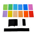 12 Colors Flash Color Card Diffuser Lighting Flashlight Lamp Shade For Canon Nikon Sony Pentax