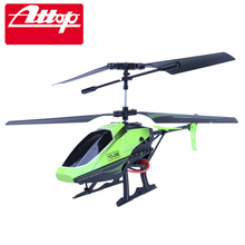 Attop Children RC Electric Toy Helicopter Quadcopter YD-218 3.5CH GYRO Remote Control Plane Cool Design Shatter Resistant #E