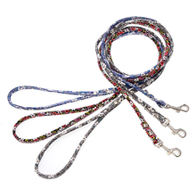 Happy home 1.2M Pet Products Hauling Cable Leads Collars Pet Rope Traction Belt Dog Puppy Pet Leash Lead Walking Harness Belt