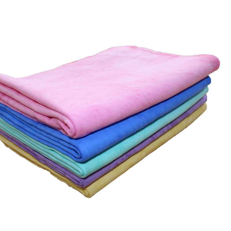 Cheap 43cm * 32cm Chamois Leather Towel Cleaning Towel Car Wash Towel Dry Hair Towel Cleaning Cloth Wholesale(China (Mainland))