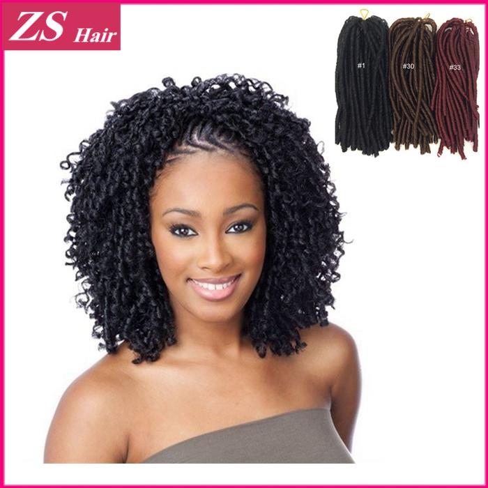 Afro Hair Extension 28inch 85g Kanekalon Crochet Braid Twist Nina Soft Dread Braiding Women - Queen&Hair store