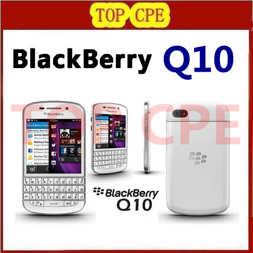 Hot sale 100% original Q10 Blackberry mobile phone 3G 4G Network 8.0MP Dual-core 1.5 GHz 2G RAM+16G ROM Free shipping(China (Mainland))