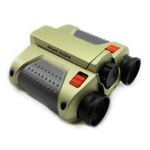 Child Night Vision Telescopes Surveillance Scope Binoculars With LED Light Gift 4X30mm(China (Mainland))