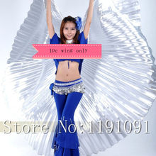 High quality Egypt Isis Belly Dance Wings Dance Wing Hot New indian dance women bellydance 1pc wing 11 colors(China)