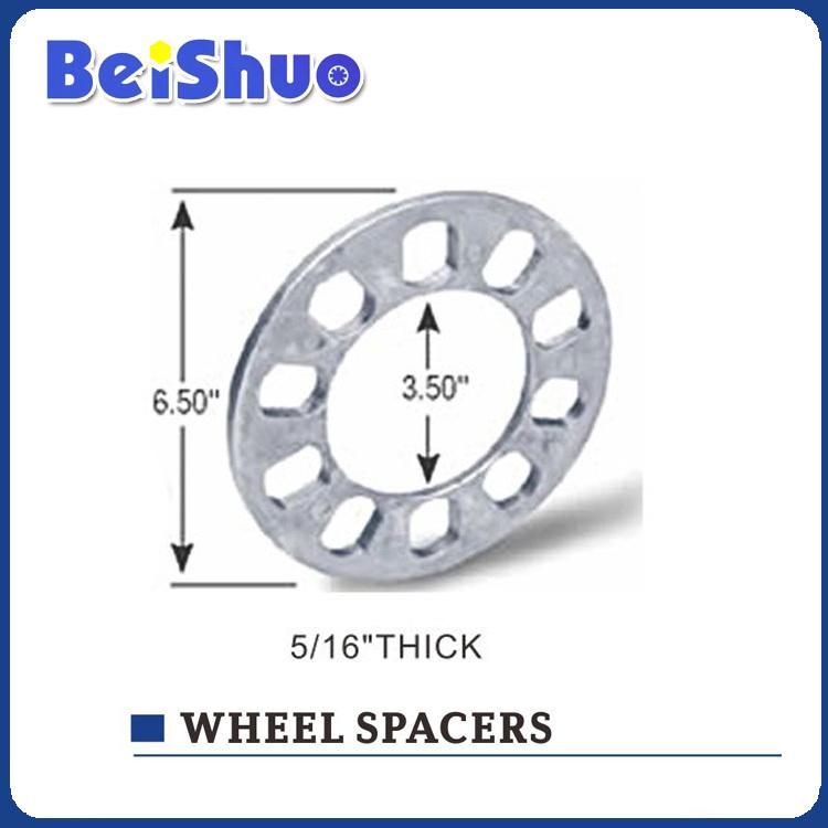 Car Aluminum Billet Wheel Spacer/Wheel Adapter alloy wheel spacer High polish Aluminium 6061 4 hole(China (Mainland))