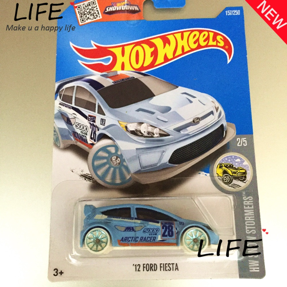 2016 Free Shipping Hot Wheels 12th fiesta Car Models Metal Diecast Cars Collection Kids Toys Vehicle For Children Juguetes(China (Mainland))