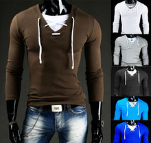 top fashion 2015 mens sweaters v-neck  eden park sport dresses pullovers casual sueter long shirts sweater men's clothing(China (Mainland))