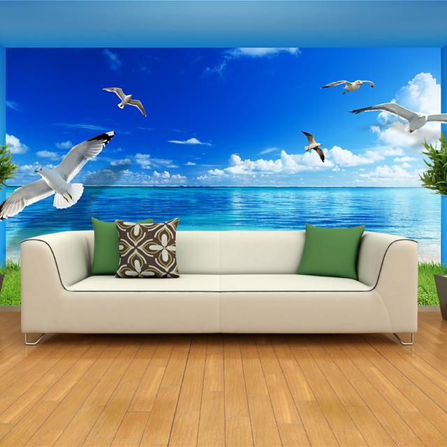 Papel de parede para sala tres d cole o de for Papel pared personalizado foto