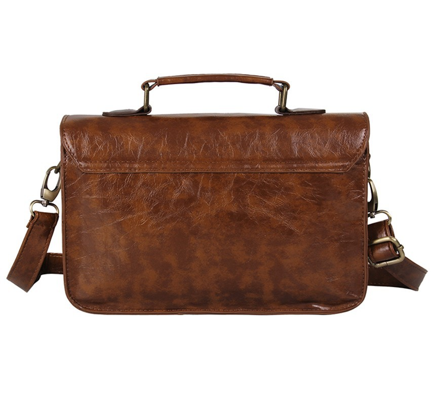 Popular Business Bag Shoulder Bag Document Briefcase Handbag Men With Leather