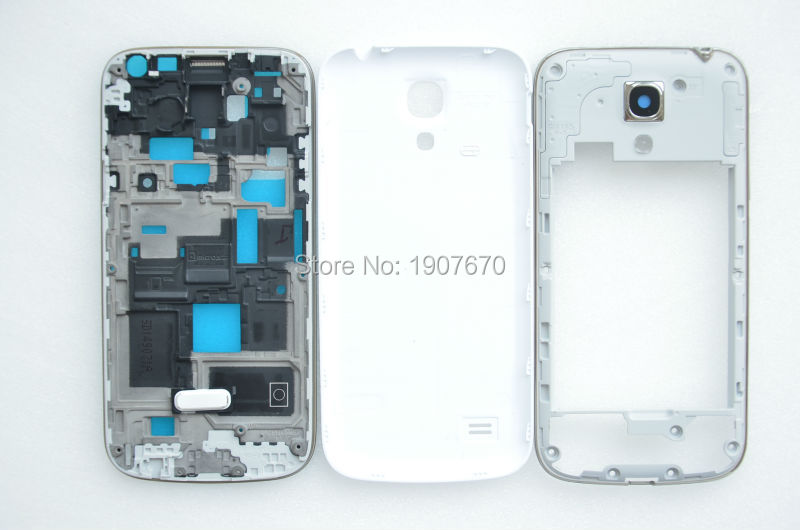 Full Housing Cover Repair Parts for Samsung Galaxy S4 SIV Mini i9190 9195 white