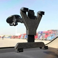 360 Rotatable Universal Car Mount Holder Windshield stand For Mobile ipad 2 3 4 mini air
