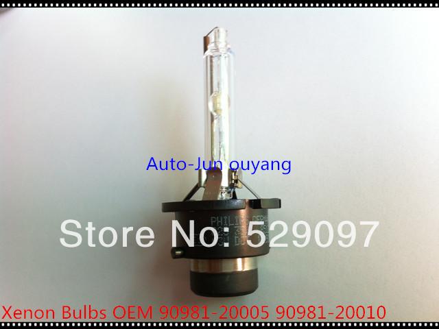 Free shipping 100% original goods,90981-20005 /D2S 6000K 35W Lexus RX400H RX350 RX330 ES300 SC430 HID Headlight Bulb(China (Mainland))