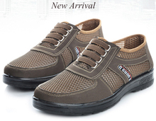2015 сетки свободного покроя мужской обуви мужская летняя обувь мужская квартиры для мужчин подарок для отца NX045