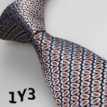 2016 Latest Style Necktie Silver Gray/Broen/White Geometric Design Gifts For Men Vestido De Festa Men Vestidos/Men's Accessories