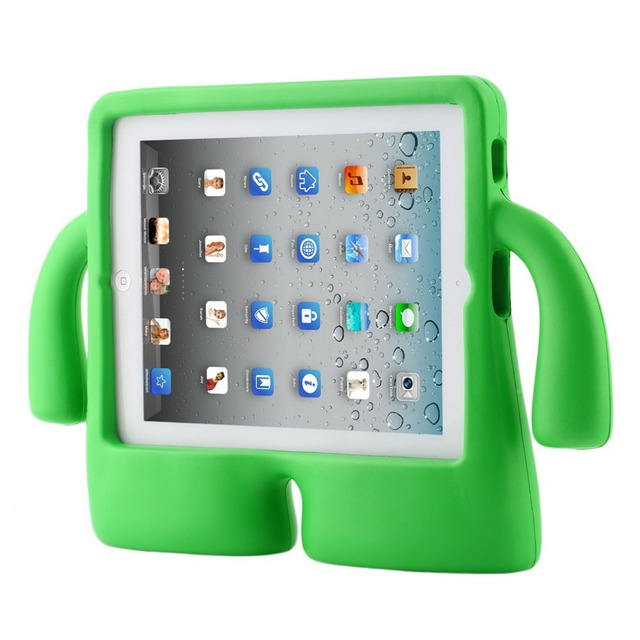 Shockproof Kids Child Handle Foam Case Cover Stand For Apple for iPad 2 3 4 eva