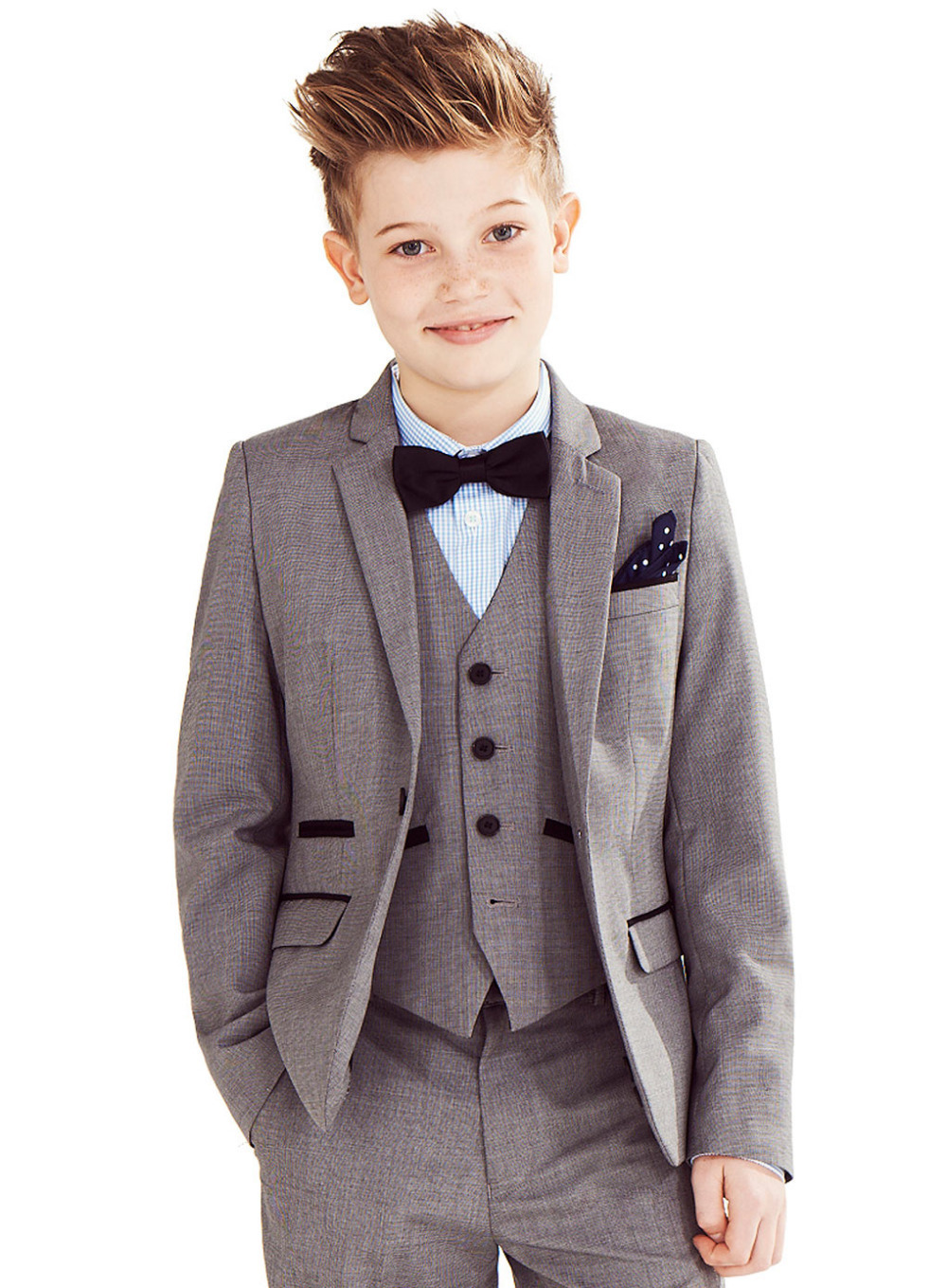 Fashion Children suits for party customized boy Kids suits set (Jacket+Pants+Shirt+vest+ tie)blazer outerwear child suits(China (Mainland))