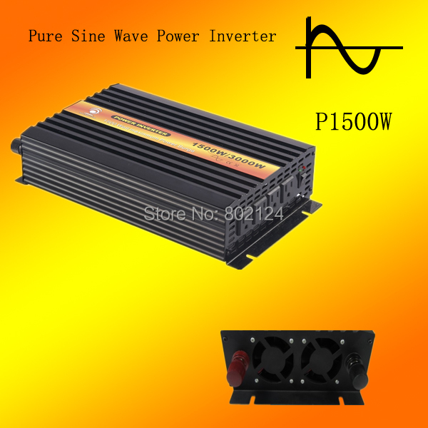 Hot sell 1500w /3000w  Car power inverter DC24V to AC100V 50HZ/60HZ Switch hot selling in JP.