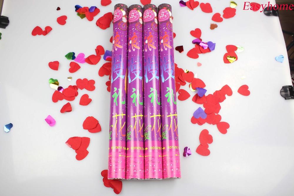 Free shipping 12 pcs/lot bar wholesale 40cm party popper,wedding celebration confetti popper,the beset creative wedding supplies(China (Mainland))