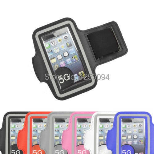 Waterproof Jogging Sports Running Gym Armband Arm Band Strap Case Cover Apple iPhone 5 - Aura Tech Ltd. store