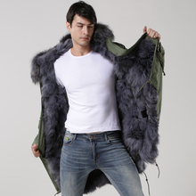 2016 Grey Fox Full Fur For Mens Wear,Long Fashion Grey Fox Fur Mr&Mrs Winter Wear(China (Mainland))