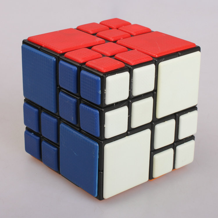 7CM Cubetwist AI Bandaged 4x4x4 Speed Classic Top Magic Cube Puzzle Brain Teaser(China (Mainland))