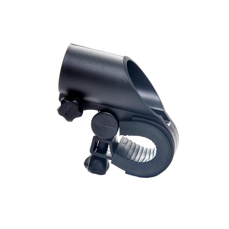 Cycling Bike Bicycle Front Light Clip Torch Bracket LED Flash Light Mount Holder